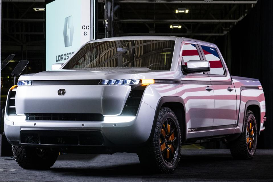 Vice President Pence Attends Lordstown Motors Endurance All-Electric Pickup Truck Reveal Event