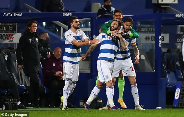 Queens Park Rangers took the west London bragging rights with a 2-1 victory over Brentford