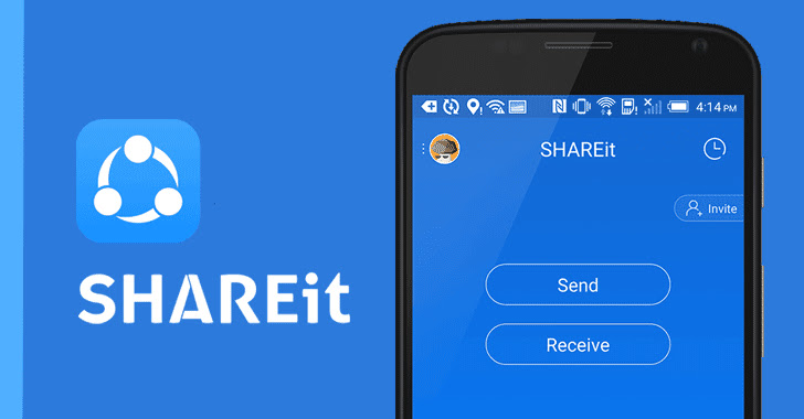 SHAREit android hacking