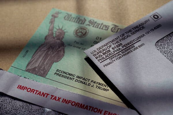 Some Americans expecting a stimulus payment may have to receive it as a tax credit on the 2020 return.