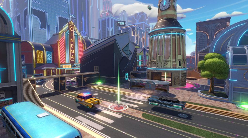 The Citycenter map in Knockout City.