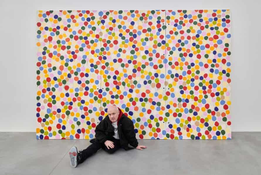 Hirst in his Newport Street Gallery.