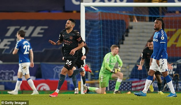 Riyad Mahrez scored the pick of the bunch with City now 10 points clear at the top of the table
