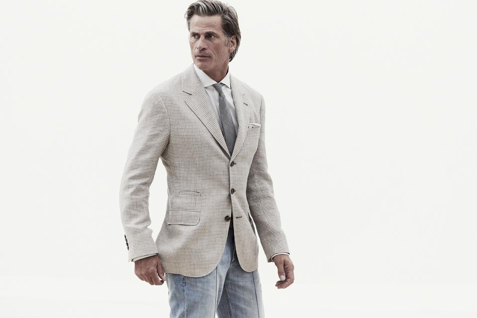 Brunello Cucinelli SS21 Men's Collection: Essential Values bring understated refinement to classic sartorial style.