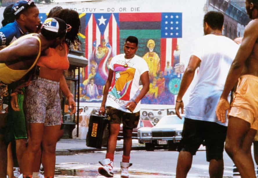 A still from Do the Right Thing.