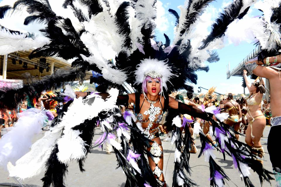 Scenes from the glorious ritual that is Trinidad Carnival.