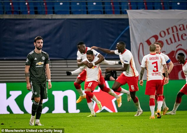 RB Leipzig beat Manchester United in the group stages, a result which knocked them out
