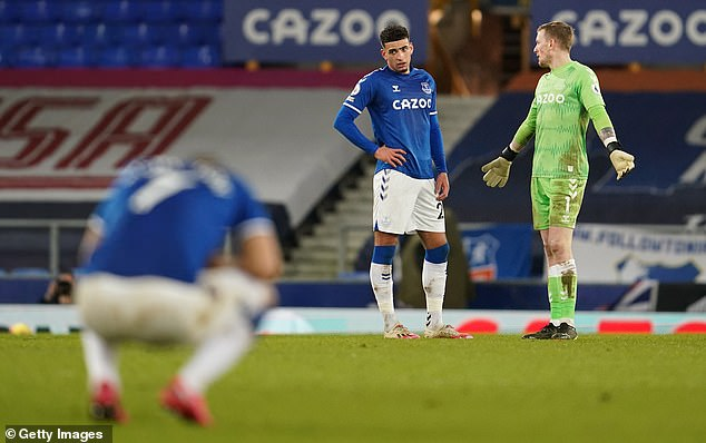 Everton struggled to keep the current league leaders quiet on Wednesday night