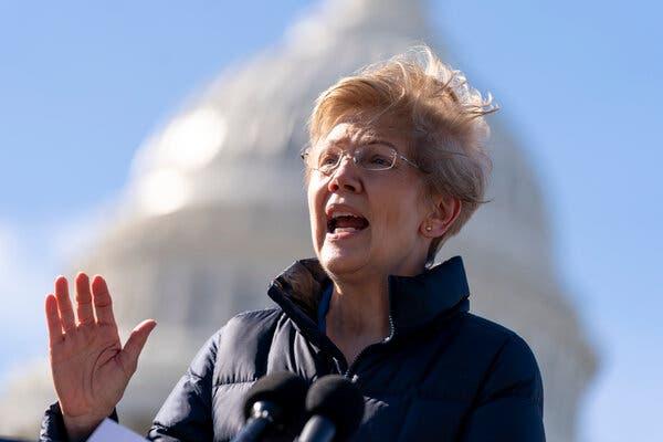 Senator Elizabeth Warren has asked about the business practices of Robinhood, the stock trading platform.