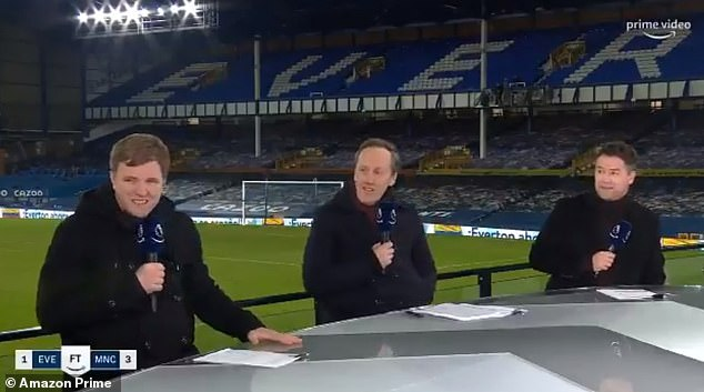 Michael Owen (R), Lee Dixon (C) and Eddie Howe waxed lyrical about City after win at Everton