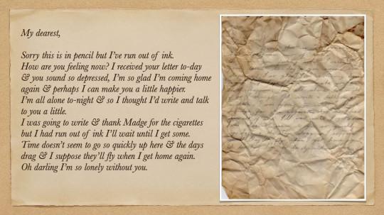 Love letters found under floorboards in seaside hotel