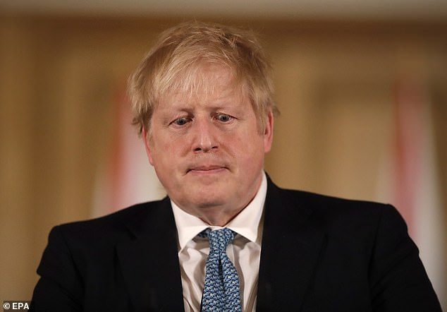 Boris Johnson insisted that the 'scientific advice is (live sport) has little effect on the spread'