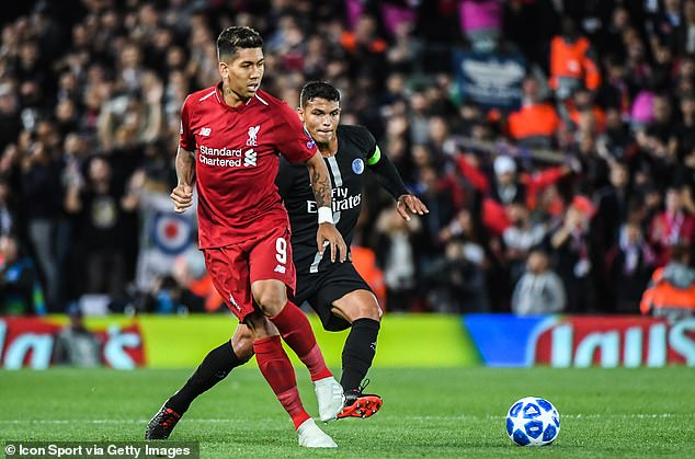 Silva plays with Roberto Firmino for the Brazil team but has battled with him at Liverpool