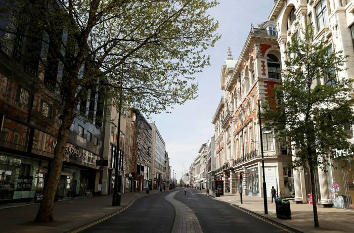 The pandemic has drained the life out of shopping areas such as Oxford Street in London, which could be repurposed as showrooms, warehouses and housing