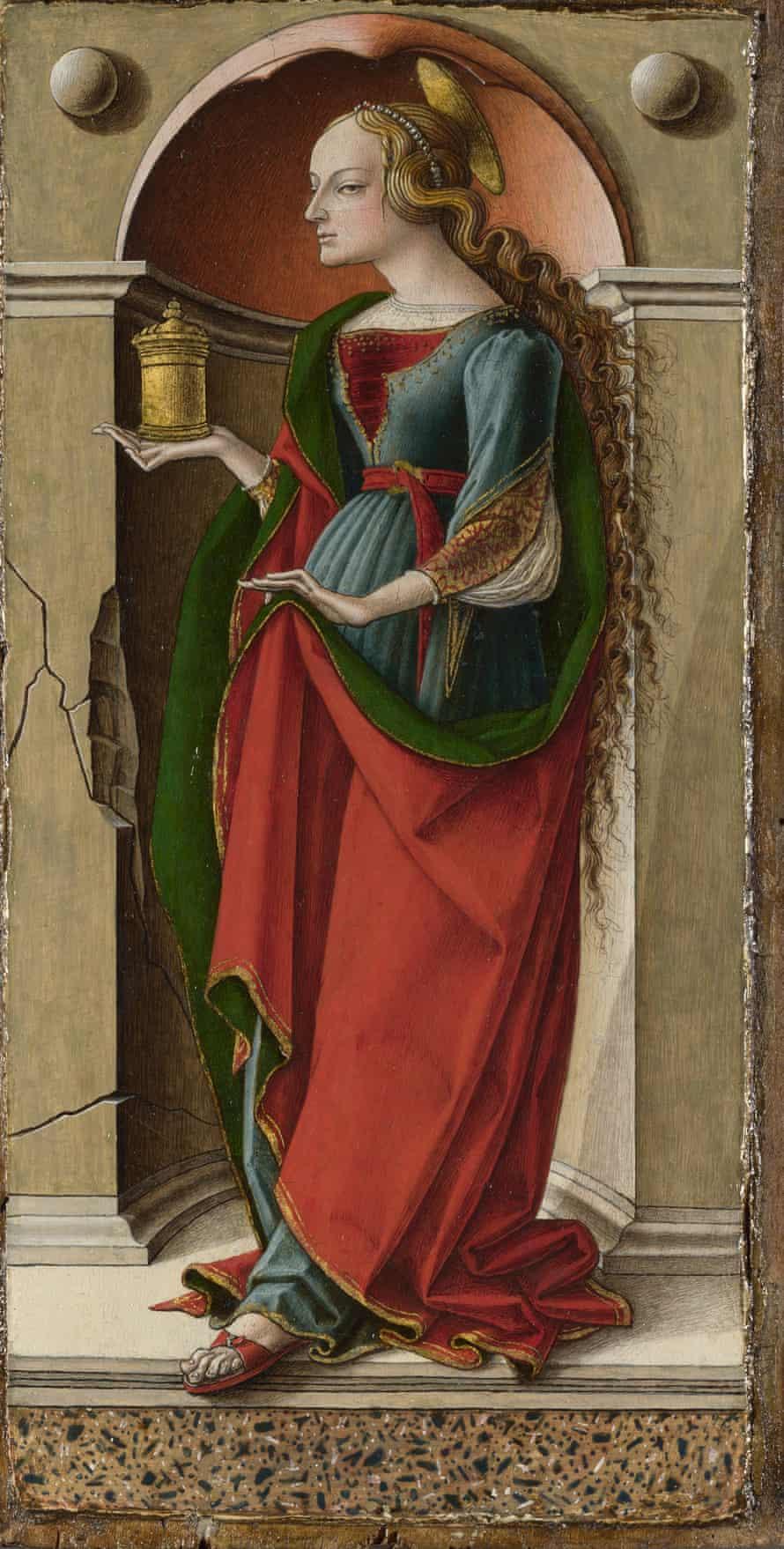 Carlo Crivelli, Saint Mary Magdalene