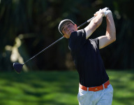 Viktor Hovland assessed two-shot penalty Thursday at the Players Championship