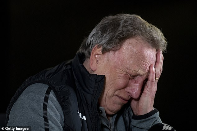 Neil Warnock jested about the subject which has been discussed on WhatsApp groups