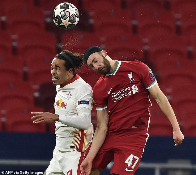 On his Champions League debut Nat Phillips was a colossus against Leipzig and dominated