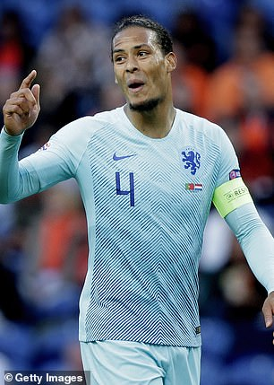 Van Dijk has been out since October and was set to be a key player for the Netherlands this summer