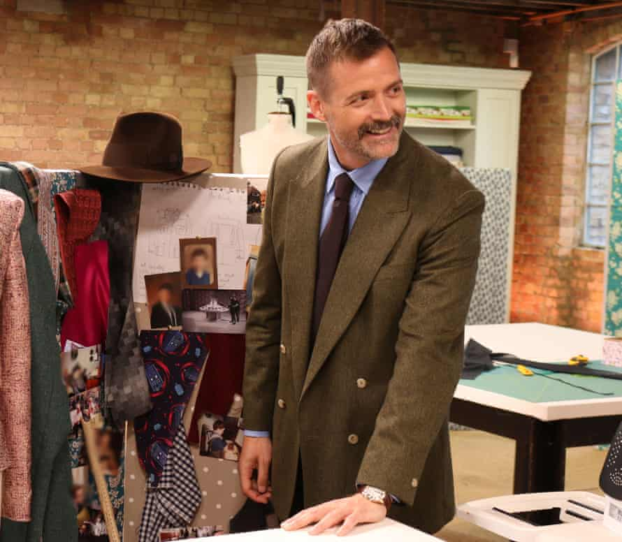 Great British Sewing Bee judge Patrick Grant