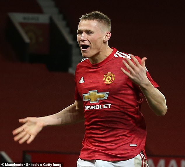 The Red Devils claimed the win on the back of a second-half goal from Scott McTominay