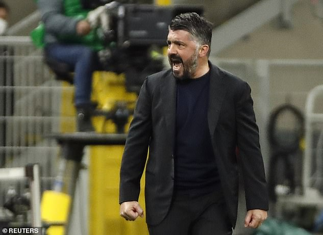 Milan great Gennaro Gattuso has helped Napoli up to fifth after masterminding a huge win