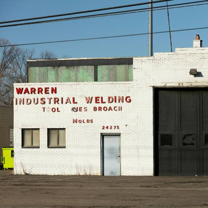Small and midsize machine shops, such as this one in Warren, Michigan, have supplied the automotive industry for decades