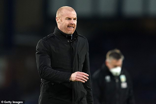 Sean Dyche likened the situation of his captain to current Newcastle manager Steve Bruce
