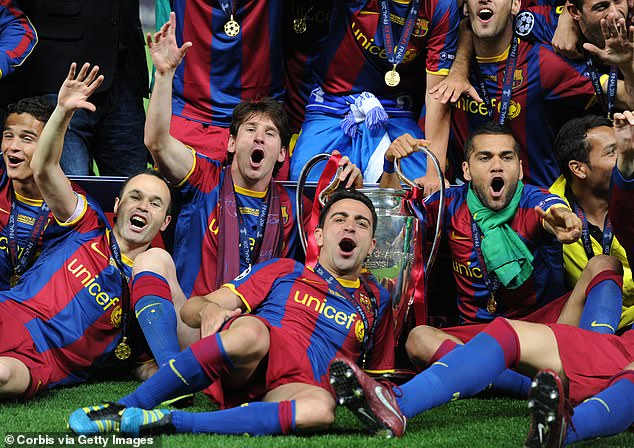 Xavi insists 'it had to be Leo' who finally took the record in the famous red and blue stripes