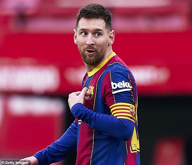 This season club legend Messi will become Barca's all-time record appearance maker