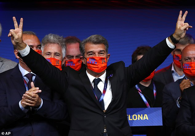 The recent election victory of Joan Laporta has increased Messi's chances to staying