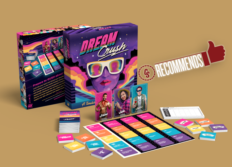 CS Recommends: Dream Crush, Plus Video Games, Books & More!