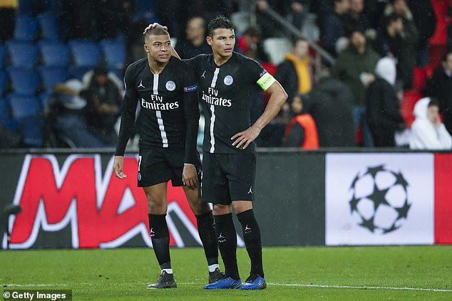 Thiago Silva already includes Kylian Mbappe in the toughest players he has ever faced