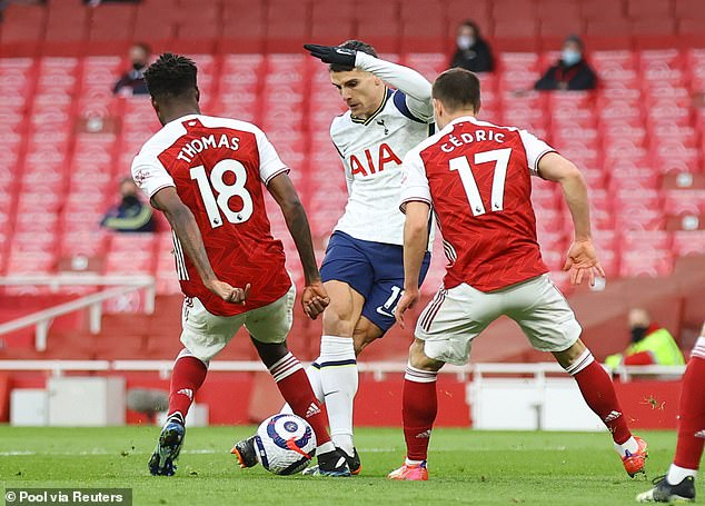 Erik Lamela scored one of the all-time great Premier League goals in the North London derby