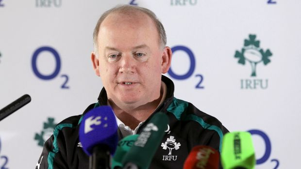 In his first two seasons as Ireland head coach Declan Kidney won the Triple Crown, Six Nations and Churchill Cup trophies. File photograph: Inpho