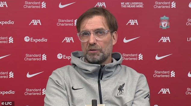 Jurgen Klopp has risked a club-versus-country row by saying any Liverpool players who represent countries on the UK's Covid red list won't be allowed on international duty