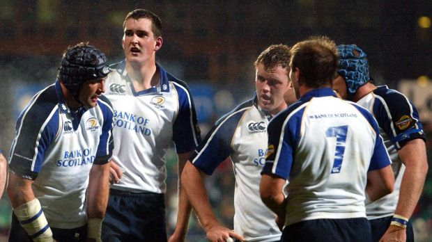 In action for Leinster back in 2006. Toner is now in his 15th season. File photograph: Inpho
