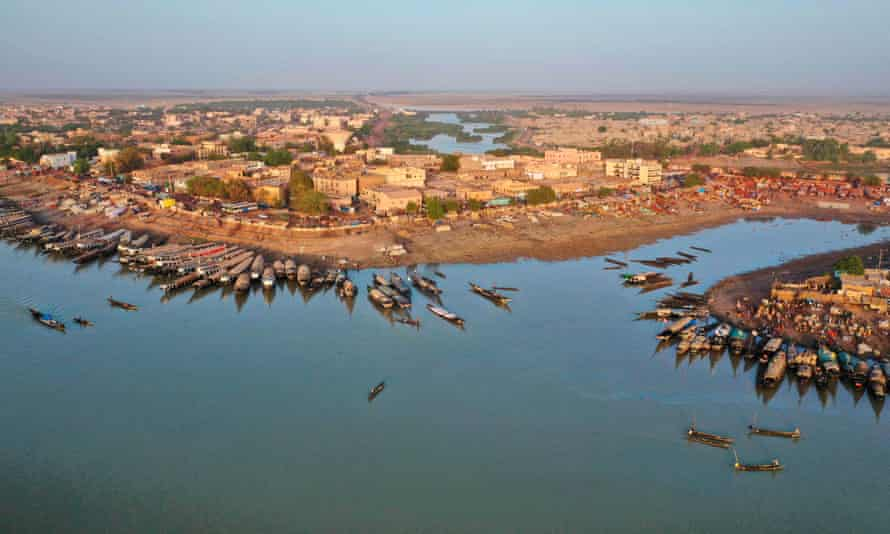 Mopti in central Mali, which has filled with villagers displaced by the insurgency.