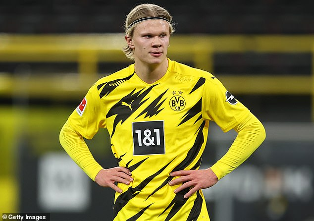 Manchester United have reportedly decided that Erling Haaland is the striker they want to sign
