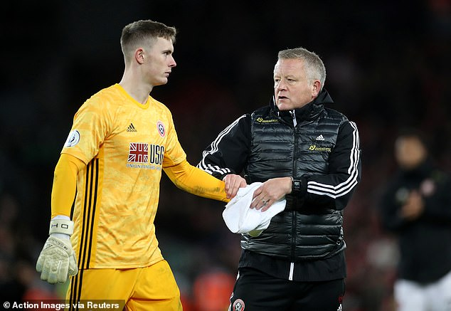 Dean Henderson has paid tribute to former boss Chris Wilder, who is set to be sacked by Sheffield United