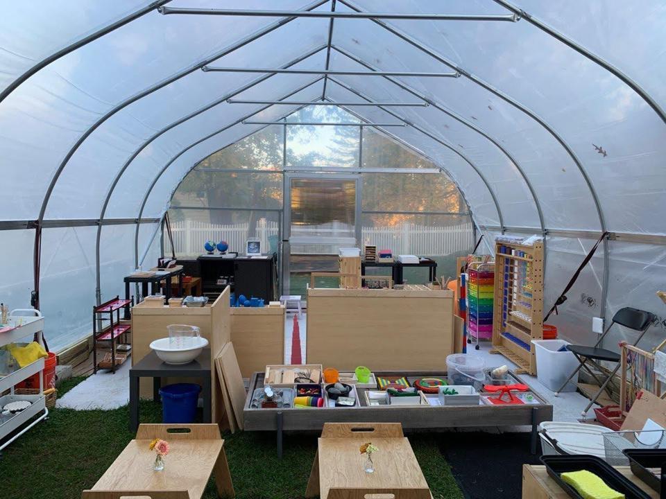 Hope house with Montessori materials