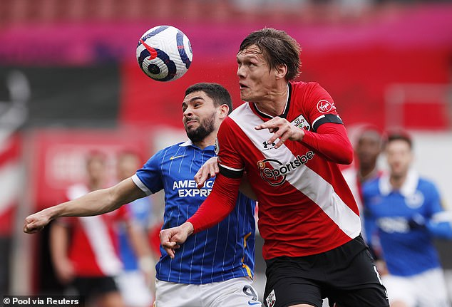 Jannik Vestergaard has played 68 times in all competitions since joining Southampton in 2018