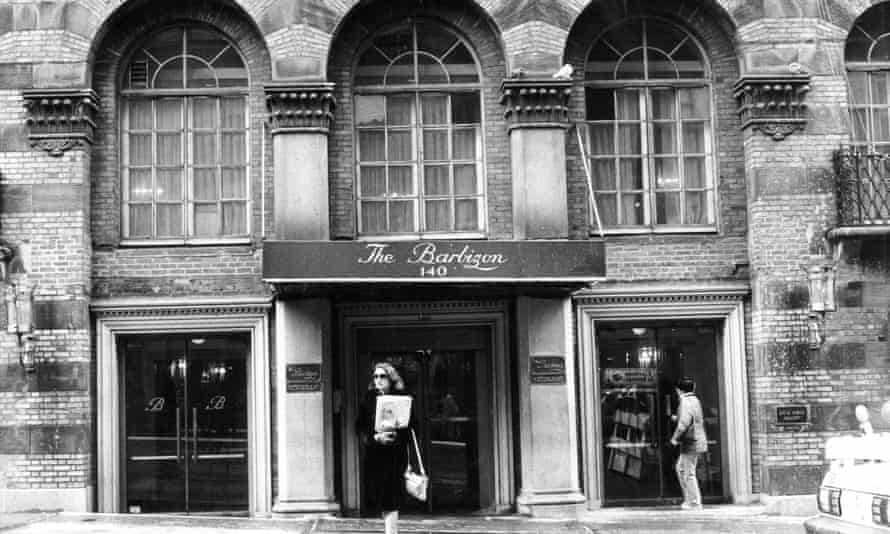 The Barbizon hotel entrance at 140 East 63rd Street.