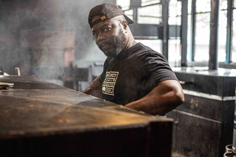 Rodney Scott is author of the book ″Rodney Scott's World of BBQ″