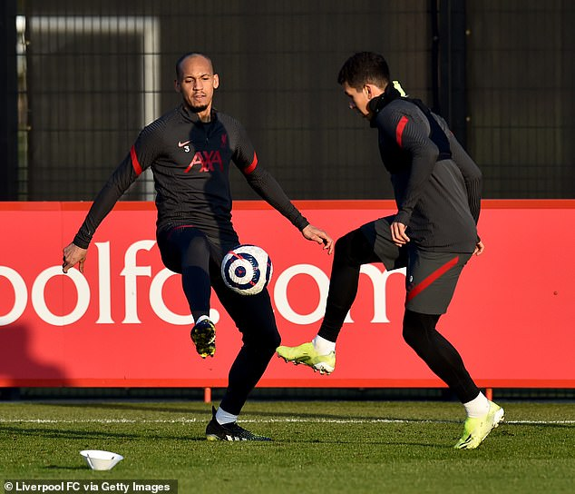 Fabinho (left) and Roberto Firmino (right) could also be forced to miss Brazil duty this month