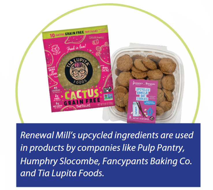 Products using ingredients from Renewal Mill