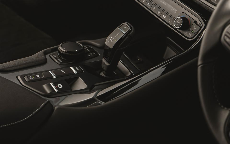 Gear selector of the 2021 Toyota GR Supra