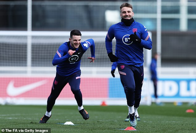 The midfielder is also reported to have spoken to Luke Shaw during the England camp