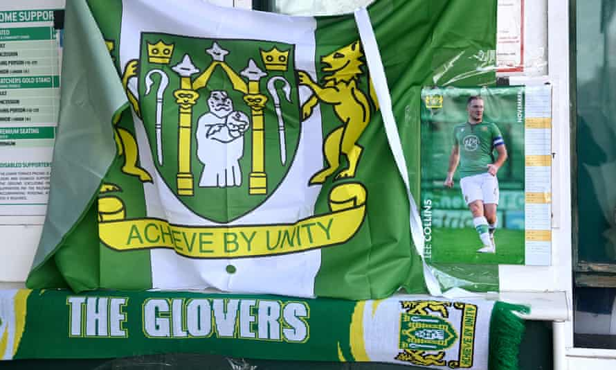 Lee Collins is fondly remembered by fans of Yeovil, whom he joined in 2019.