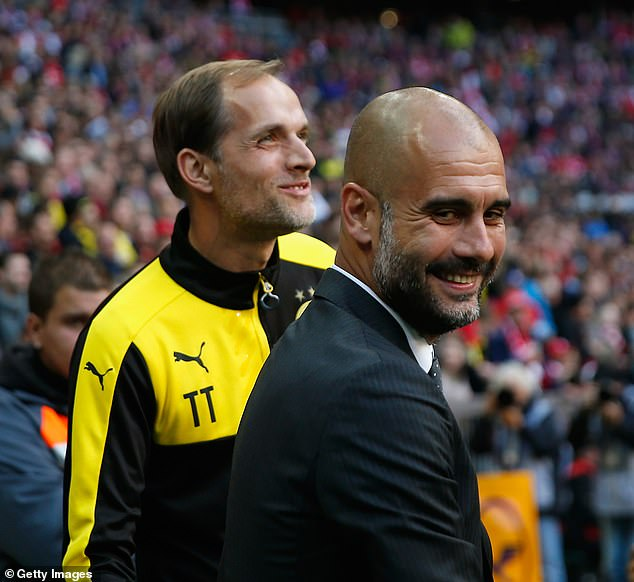 Tuchel took charge of both Mainz and Borussia Dortmund during the three seasons Guardiola was in charge at Bayern Munich